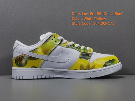 Dunk Low Pro SB De La Soul 304292-171 Released