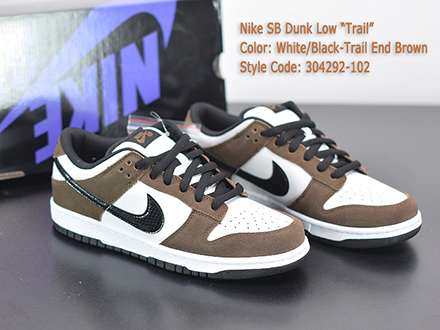 Dunk Low Pro SB Trail End Brown 304292-102