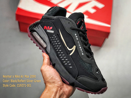 Neymar Jr x Air Max 2090 Black CU9371-001 Released